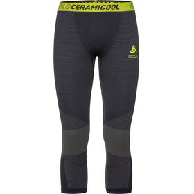 Odlo Ceramicool Motion 7/8 Bottom Men black-acid lime